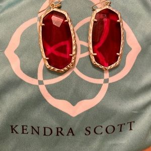 Kendra Scott berry holiday earrings